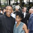 "No Web No Chaines TV - Will Smith et sa fille Willow Smith au défilé de mode Haute-Couture automne-hiver 2016/2017 ""Chanel"" à Paris. Le 5 juillet 2016."