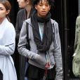 Willow Smith se promène avec un ami à Soho le 13 Mars 2016.