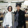 Jada Pinkett Smith et sa fille Willow Smith au défilé de mode Chanel collection prêt-à-porter Automne Hiver 2016/2017 au Grand Palais, lors de la fashion week à Paris, le 8 mars 2016. © Olivier Borde/Bestimage P