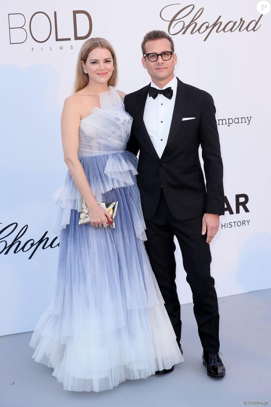 Gabriel Macht et sa femme Jacinda Barrett à Cannes