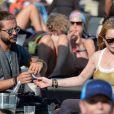 Lindsay Lohan et Dennis Papageorgiou lors de leur séjour Mykonos, le 28 août 2016