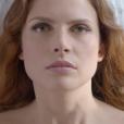 Elodie Frégé est la nouvelle égérie d'Aura Mirabilis de Roger & Gallet, septembre 2016. Capture d'écran de la campagne.