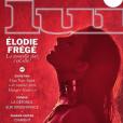 Elodie Frégé en couverture de Lui magazine, mai 2016.