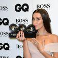 Bella Hadid, modèle de l'année aux GQ Men of the Year Awards 2016 à Londres le 6 septembre.