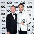 Simon Pegg et Chris Pineaux GQ Men of the Year Awards 2016 à Londres le 6 septembre.