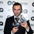 Aidan Turneraux GQ Men of the Year Awards 2016 à Londres le 6 septembre.