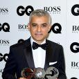 Sadiq Khanaux GQ Men of the Year Awards 2016 à Londres le 6 septembre.