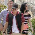 Orlando Bloom et Katy Perry se promènent à Cannes, le 18 mai 2016