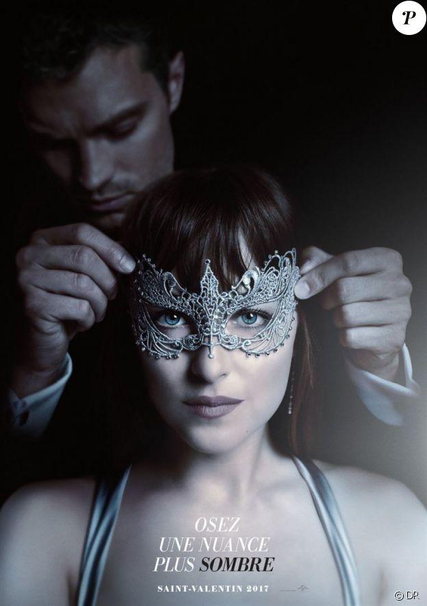 Affiche du film 50 Nuances plus sombres (Fifty Shades Darker) en salles le 8 février 2017