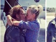 Johnny Hallyday et Laeticia : Un tendre baiser avant sa chevauchée fantastique