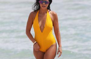 Kourtney Kardashian : Maman canon à la plage, avec son ex Scott Disick