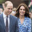 Kate Middleton et le prince William étaient en visite à la Stewards Academy à Harlow, dans l'Essex, le 16 september 2016 pour continuer de soutenir la campagne Heads Together en faveur du bien-être mental des jeunes.