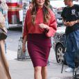 Chrissy Teigen dans les rues de New York, le 13 septembre 2016.