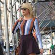 Taylor Swift dans les rues de Tribeca avec sa mère Andrea à New York, le 16 septembre 2016