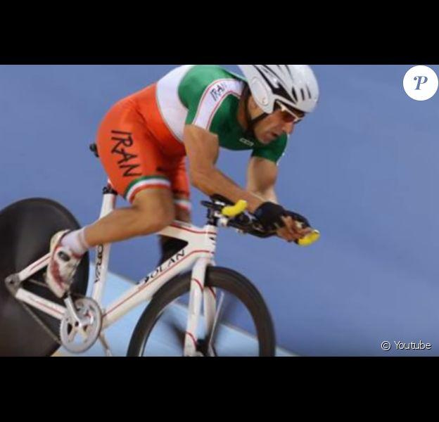 Bahman Golbarnezhad, cycliste handicapé, est mort pendant une épreuve des JO de Rio 2016.