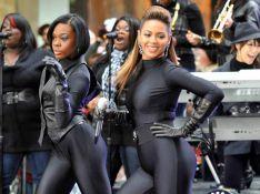 REPORTAGE PHOTOS : Beyoncé, un corps de diablesse, pour une promotion époustouflante dans la rue !