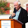 Exclusif - Pierre Vitry, époux de Sylvie Joly, lors de l'inauguration de l'école Sylvie Joly le 10 septembre 2016 à Dierre (Indre et Loire). © Laetitia Notarianni / Bestimage