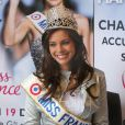 Marine Lorphelin, Miss France 2013, est de retour dans sa ville natale, Charnay-les-Macon en Bourgogne. Le 19 decembre 2012