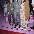 Lou Doillon, Marco Bizzarri et Miriam Leoneau défilé Gucci à Milan, le 21 septembre 2016.
