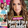 Jana Kramer en couverture du magazine Us Weekly, en kiosques en septembre 2016