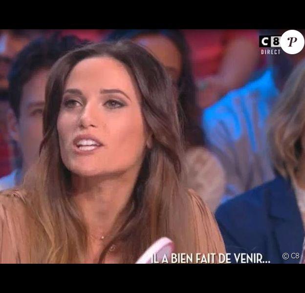 """Capucine Anav dans """"Touche pas à mon poste"""", mercredi 21 septembre 2016, sur C8"""