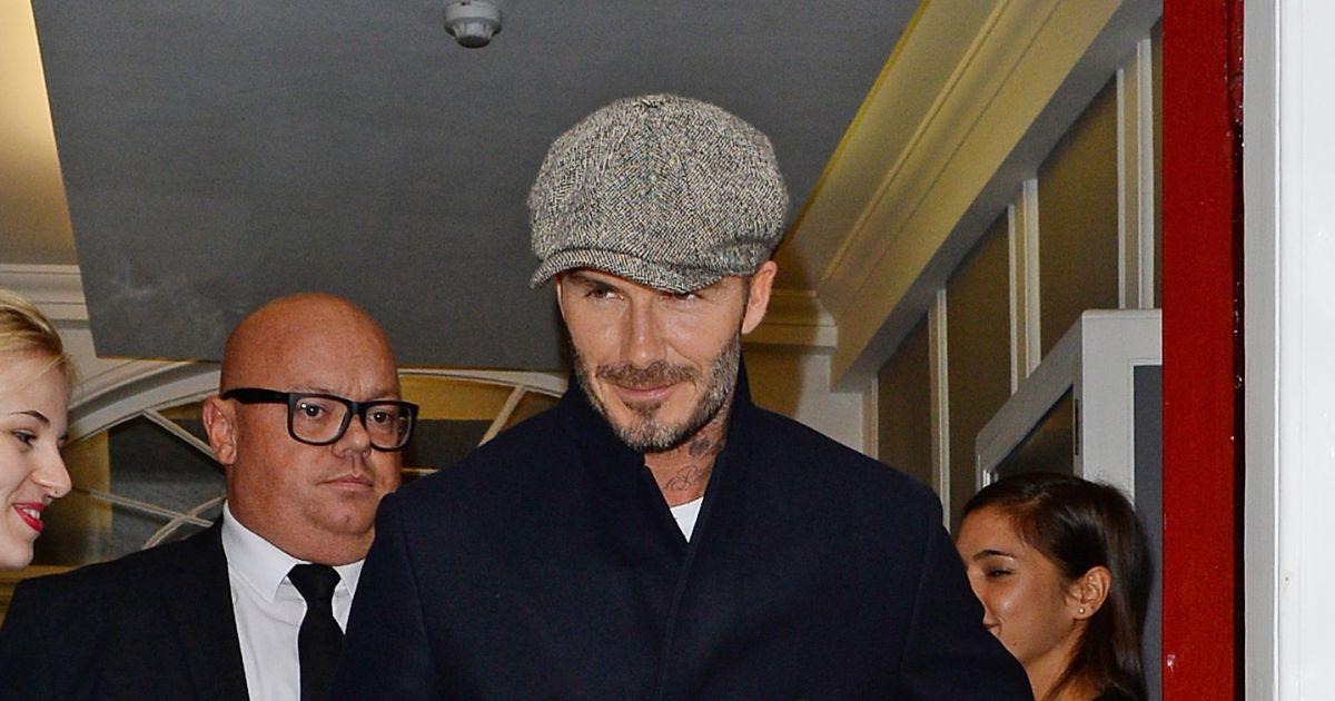 David Beckham a assist... 2017 David Beckham Divorce