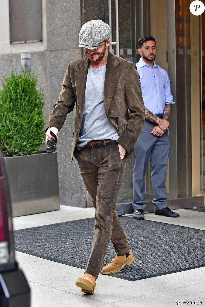 David Beckham Quitte La Salle Apr S Avoir Assist Au D Fil De Sa Femme Victoria Beckham Lors De