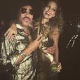 Lionel Richie fête les 35 ans de sa fille Nicole. Photo publiée sur Instagram le 25 septembre 2016