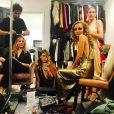 Nicole Richie se prépare pour sa soirée d'anniversaire avec ses copines. Photo publiée sur Instagram le 25 septembre 2016