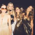Nicole Richie fête ses 35 ans entourée de tous ses célèbres amis dont Jessica Alba lors d'une soirée disco à l'hôtel The Standard. Image extraite d'une vidéo publiée sur Instagram le 25 septembre 2016