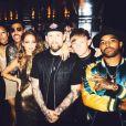Nicole Richie fête ses 35 ans entourée de tous ses célèbres amis, son père Lionel et son mari Joel Madden lors d'une soirée disco à l'hôtel The Standard. Image extraite d'une vidéo publiée sur Instagram le 25 septembre 2016
