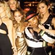Nicole Richie fête ses 35 ans entourée de tous ses célèbres amis dont l'actrice Kate Hudson lors d'une soirée disco à l'hôtel The Standard. Image extraite d'une vidéo publiée sur Instagram le 25 septembre 2016