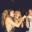 Nicole Richie fête ses 35 ans entourée de tous ses célèbres amis lors d'une soirée disco à l'hôtel The Standard. Image extraite d'une vidéo publiée sur Instagram le 25 septembre 2016