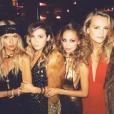 Nicole Richie fête ses 35 ans entourée de tous ses célèbres amis dont la styliste Rachel Zoe lors d'une soirée disco à l'hôtel The Standard. Image extraite d'une vidéo publiée sur Instagram le 25 septembre 2016