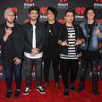 Le groupe Los 5 à la soirée iHeart Radio lors du Festival de musique à T-Mobile Arena à Las Vegas, le 23 septembre 2016