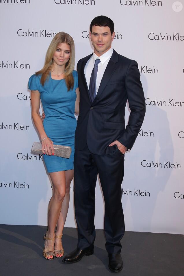 Annalynne McCord et Kellan Lutz à la soirée Calvin Klein le 7 juin 2010 à Berlin