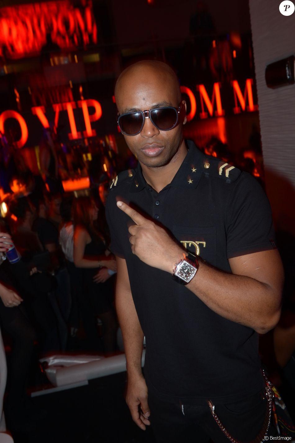 Archive - Rohff lors du reveillon du Nouvel An 2013 au VIP Room Marrakech, le 31 decembre 2012.