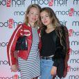 """Exclusif - Gabrielle Lazure et sa fille Emma - Inauguration du nouveau salon de coiffure """"Studio"""" de Mod's Hair"""" à Paris, le 26 septembre 2016. © CVS/Bestimage"""