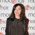 """Exclusif - Sylvie Hoarau (du groupe Brigitte) - Inauguration du nouveau salon de coiffure """"Studio"""" de Mod's Hair"""" à Paris, le 26 septembre 2016. © CVS/Bestimage"""