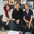 """Exclusif - Lucie Fragedet, Orféo Campanella, Camille Aguilar - Inauguration du nouveau salon de coiffure """"Studio"""" de Mod's Hair"""" à Paris, le 26 septembre 2016. © CVS/Bestimage"""