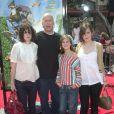 Bruce Willis et ses trois filles, Rumer, Scout et Tallulah en 2006