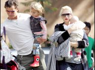 REPORTAGE PHOTOS : Gwen Stefani... Promenade en famille avec Kingston et Zuma !