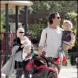 Gwen Stefani, Gavin Rossdale et leurs enfants Kingston et Zuma