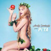 Arielle Dombasle : Nue pour défendre la cause vegan !