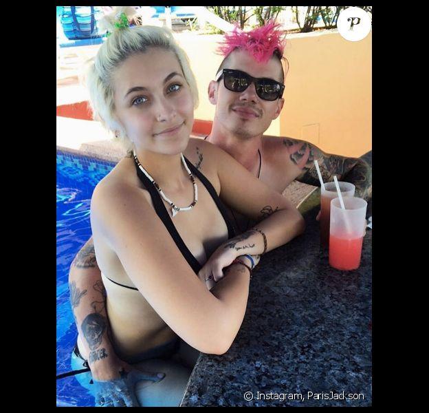Paris Jackson en vacances avec son amoureux Michael Snoddy. Photo publiée sur Instagram le 2 octobre 2016