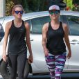 Exclusif - Reese Witherspoon et ses enfants Ava et Deacon Phillippe font un jogging à Brentwood le 9 juillet 2016.  Exclusive - For Germany call for price - Please Hide Chidren's Face Prior To The Publication - Actress Reese Witherspoon and her two kids Ava and Deacon Phillippe enjoyed some family time as they took a jog in Brentwood, California on July 9, 2016.09/07/2016 - Brentwood