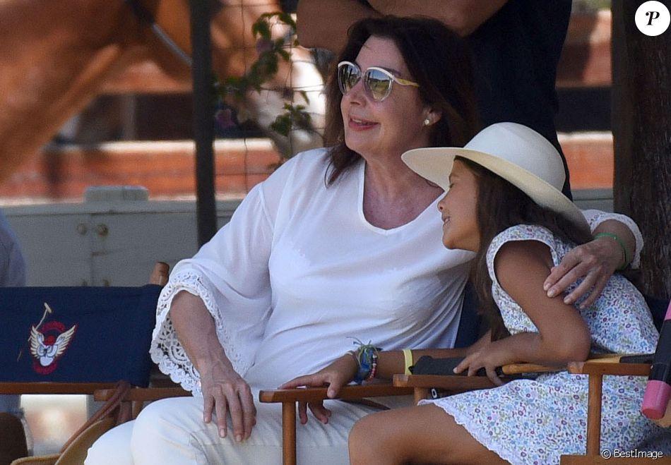 Semi-exclusif - Carmen Martinez-Bordiu, mère du prince Louis Alphonse de Bourbon (Luis Alfonso de Borbon), à Sotogrande, Espagne, le 13 août 2016.