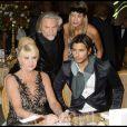 Ivana Trump et John David avec l'ex de Boris Becker à la soirée des Best, le 1/12/08