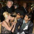 Ivana Trump et John David avec Sandy, l'ex de Boris Becker à la soirée des Best, le 1/12/08