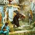 """Exclusif - Nicolas Archambault (Tony), Fauve Hautot (Stéphanie) et les danseurs - Shooting photo des acteurs de la comédie musicale """"Saturday Night Fever"""" à Paris le 12 Septembre 2016. """"Saturday Night Fever"""" sera au Palais des Sports du 9 février 2017 au 30 avril 2017. © Dominique Jacovides / Cyril Moreau / Bestimage"""